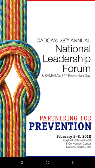 CADCA's 28th Annual National Leadership Forum & SAMHSA's 14th Prevention Day