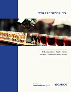 Strategizer 57 - Reducing Alcohol-Related Harms Through Commercial Host Liability